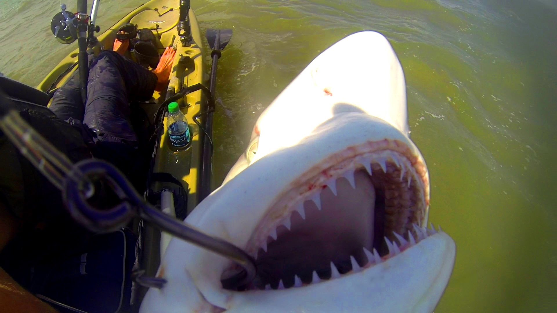 Break the rules of kayak fishing and see what happens for Field and stream fishing kayak