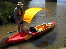 DIY Bimini Kayak Top Video