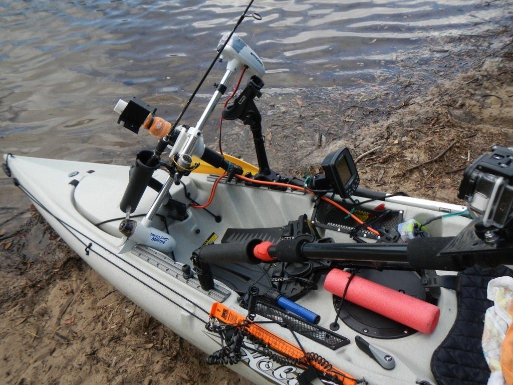 A Diy Motorized Hobie Revolution Kayak Video Kayaking